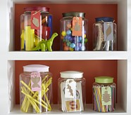 Small Acrylic Jar, Green