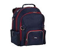 Fairfax Navy/Red Large Backpack, Football