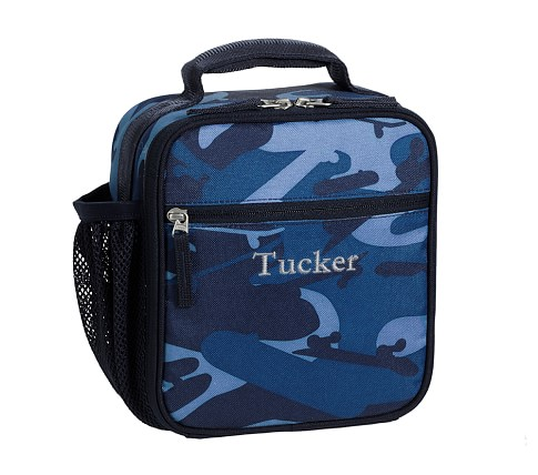 Mackenzie Blue Camo Classic Lunch Bag