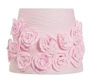 Gathered Rose Shade, Pink