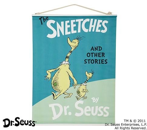 Dr. Seuss™ Book Cover Canvas Art - The Sneetches