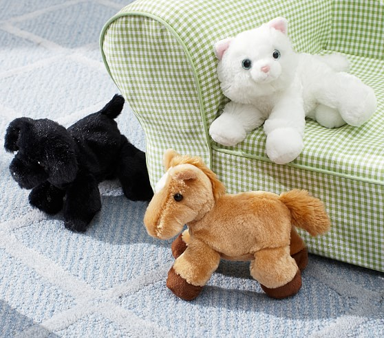 Mini Blackie Dog Plush