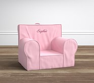 Anywhere Chair® Insert & Slipcover Set, Pink