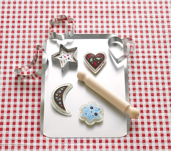 Puffy Cookie & Cookie Cutters Set