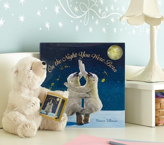 On the Night You Were Born Book & Plush Set