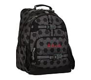 Gray Soccer Large Backpack