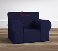Oversized Navy Anywhere Chair®