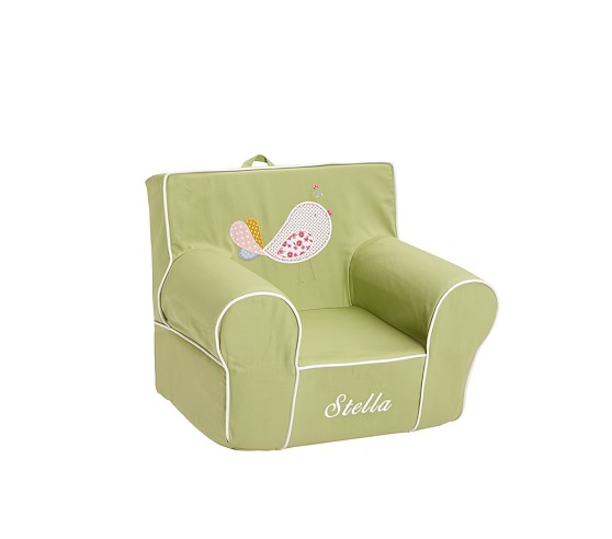 Anywhere Chair® Slipcover Only, Regular, Birdie Applique