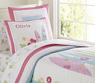 Girls' North Shore Quilt, Twin