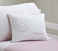 Veronica Small Quilted Sham, Pink