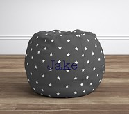 Gray Glow In The Dark Anywhere Beanbag®