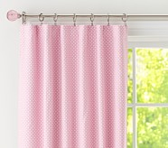 "Dot Blackout Panel, 63"", Pink"