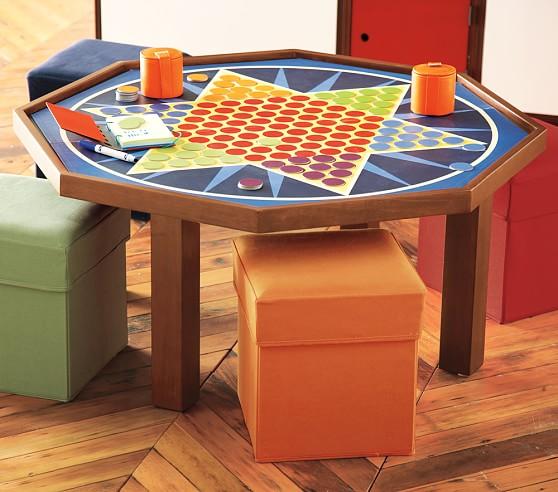 Octagon Play Table, Sun Valley Honey
