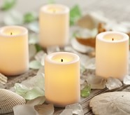 Flameless Votive Candles, Set of 4