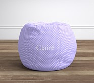 Anywhere Beanbag® Insert & Slipcover Set, Lavender Mini Dot