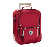 Fairfax Red/Navy Small Luggage, Baseball