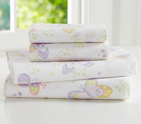 Lindsey Sheet Set, Twin, Lavender