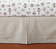 Hadley Northstar Owl Nursery Crib Skirt
