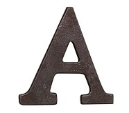Faux Bronze Letter, A