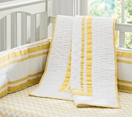 Harper Nursery Quilt, Yellow