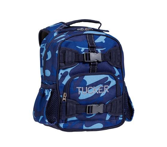 Mackenzie Blue Camo Mini Backpack