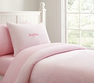 Chamois Duvet, Twin, Pink