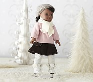 Doll Winter Skating Outfit