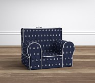 Navy Anchor My First Anywhere Chair
