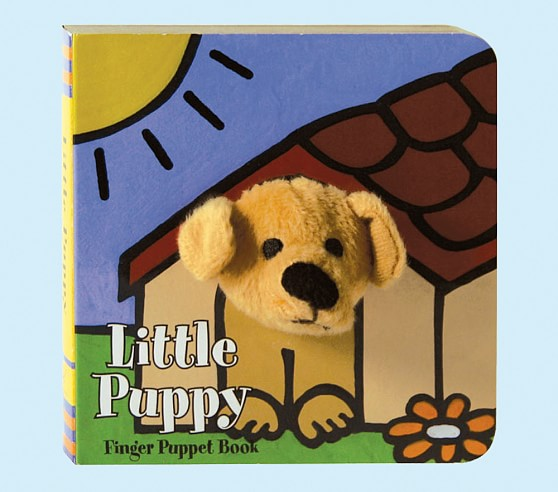 Little Puppy<br> Finger Puppet Book