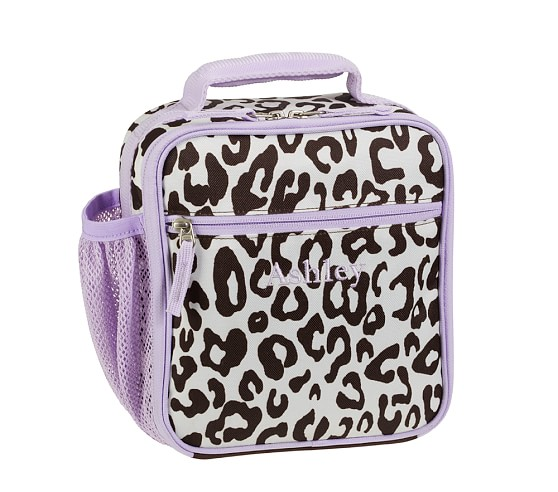 Mackenzie Lavender Cheetah Classic Lunch Bag