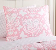 Loft Butterfly Standard Quilted Sham, Pink
