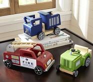 Wooden Vehicles, Fire Truck