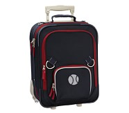 Fairfax Navy/Red Small Luggage, Baseball