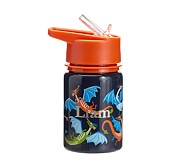 Mackenzie Water Bottle Navy Dragon