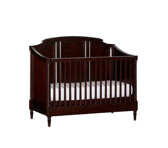 Darcy Fixed Gate Crib, Sun Valley Espresso