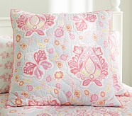 Elyse Euro Quilted Sham, Pink
