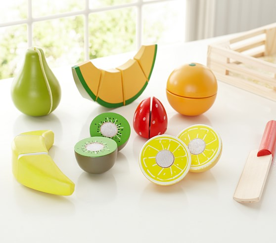 Wooden Fruit Set