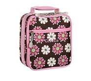 Mackenzie Chocolate Daisy Classic Lunch Bag