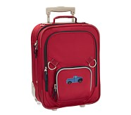 Fairfax Red/Navy Small Luggage, Truck