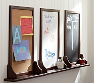 Hayden Espresso Utility Board, Chalkboard