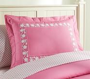 Isabelle Standard Sham, Pink