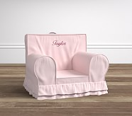 Pink Luxe Ruffle Anywhere Chair®
