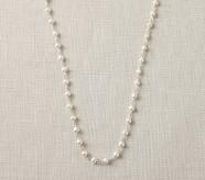 Silver Pearl Chain