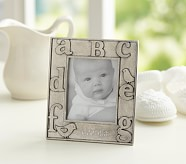 Pewter ABC Picture Frame