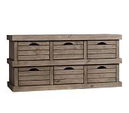 Crate Storage Medium, Weathered Gray