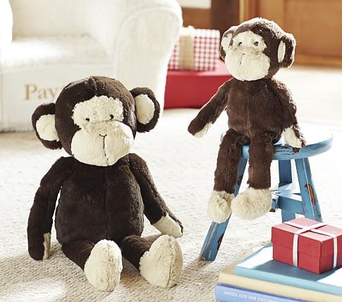 "PBK Plush, Small, Monkey ""Beans"""