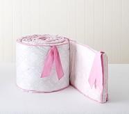 Emma Nursery Bumper, Pink