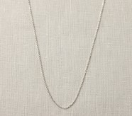 Baroni Silver Necklace