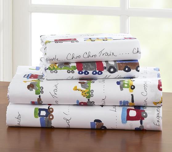 Ryder Train Pillowcase, Standard