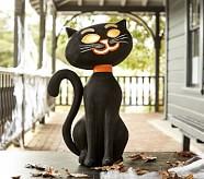 Halloween Luminary, Jumbo Black Cat